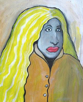 Shakira Painting - Bewildered Teenager by Danny Hennesy