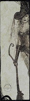 Digital Art - Bewitched by Absinthe Art By Michelle LeAnn Scott