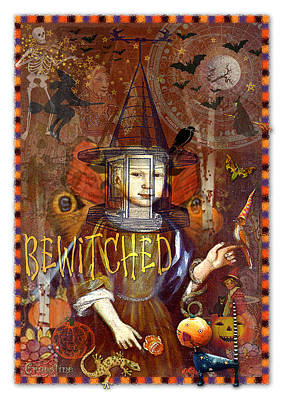 Bewitched Art Print by Ernestine Grindal