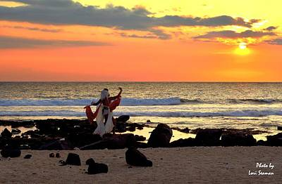 Photograph - Bewitching Sunset by Lori Seaman