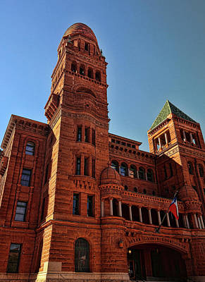 Photograph - Bexar County Courthouse by Judy Vincent