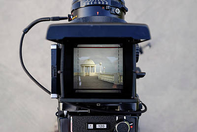 Photograph - Bexhill Through The Viewfinder by Will Gudgeon