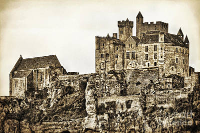 Photograph - Beynac Castle by Paul Topp