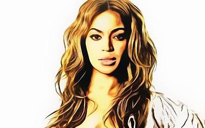 Beyonce  Original by Ez Art