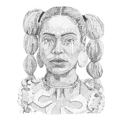 Jay Z Drawing - Beyonce by Marcus Price