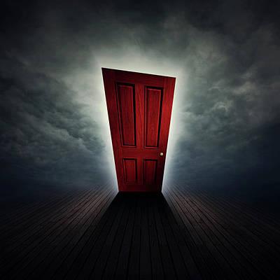 Dark Digital Art - Beyond A Dream by Zoltan Toth