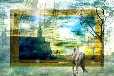 Unreal Digital Art - Beyond by Belinda Greb