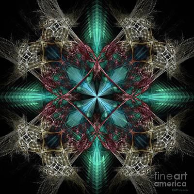 Digital Art - Beyond Four Doors by Elizabeth McTaggart