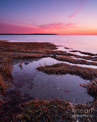 Connecticut Photograph - Beyond Greenwich Point - Tide Pools On Long Island Sound by JG Coleman