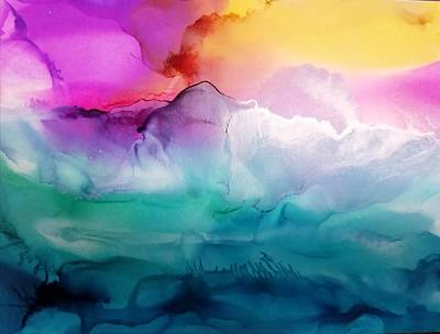 Painting - Beyond by Kelly Dallas