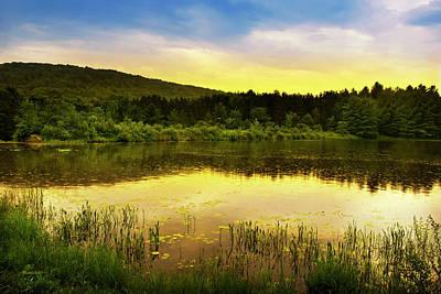 Rollos Photograph - Beyond Sunset Landscape by Christina Rollo