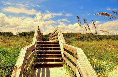 Photograph - Beyond The Beach by Kathy Baccari