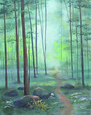 Painting - Beyond The Clearing by Dominic Sanson