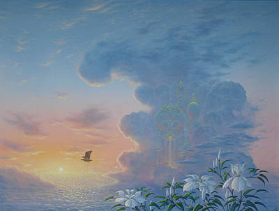 Painting - Beyond The Clouds by Tuco Amalfi