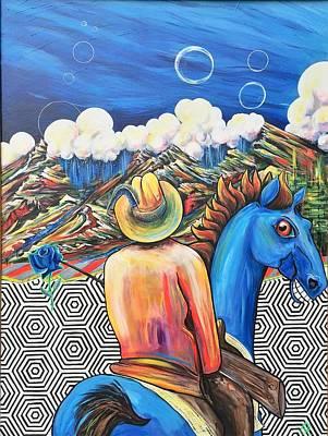 Beyond The Deluge Art Print by Randy Segura