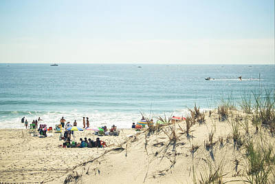 Surf Lifestyle Photograph - Beyond The Dunes by Colleen Kammerer