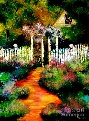 Painting - Beyond The Fence by Denise Tomasura