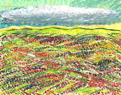 Painting - Beyond The Foothills by Corinne Carroll