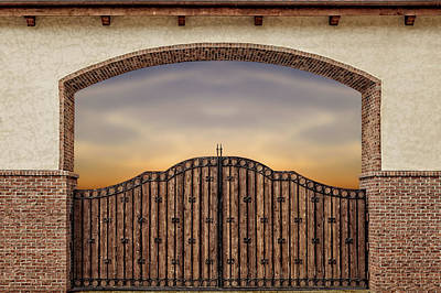 Photograph - Beyond The Gate  -  Beyondgate173199 by Frank J Benz