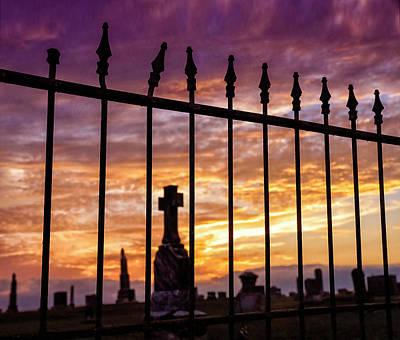 Photograph - Beyond The Gate by Dianna Lynn Walker