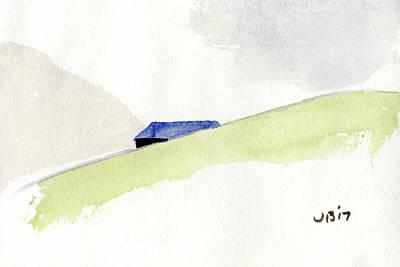 Painting - Beyond The Hill by John Bennett