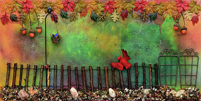Mixed Media - Beyond The Iron Gate by Donna Blackhall