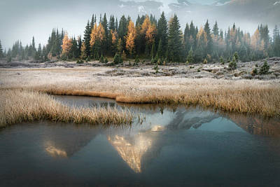 Photograph - Beyond The Mists Of Magog by Adam Gibbs