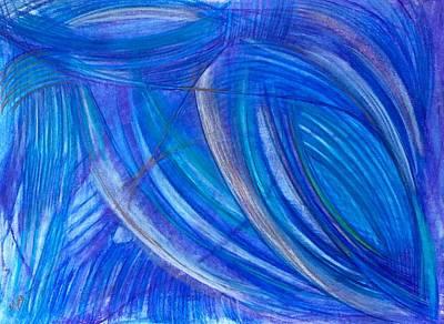 Abstract Movement Drawing - 'beyond The Power Of Reason' by Kelly K H B