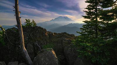 Photograph - Beyond The Ridge by Ken Stanback