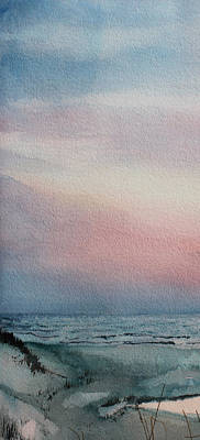 Cape Cod Painting - Beyond The Sand 1 by Hanne Lore Koehler