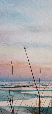 Cape Cod Painting - Beyond The Sand 2 by Hanne Lore Koehler