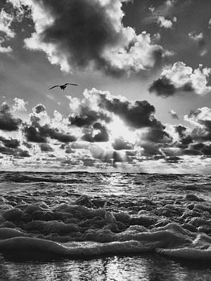 Photograph - Beyond The Waves' Edge. by Andrew Royston