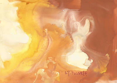 Painting - Beyond The White Light by Sheri Jo Posselt