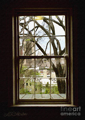 Photograph - Beyond The Window Sill by Linda Mesibov