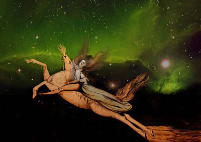 William Blake Digital Art - Beyond1 by Henriette Tuer lund