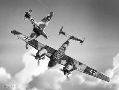 Bf-110c Zerstorer Art Print