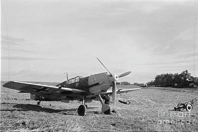 Photograph - Messerschmitt Bf109e-3. Richthofen  by Oleg Konin