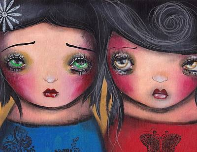 BFF Art Print by  Abril Andrade Griffith