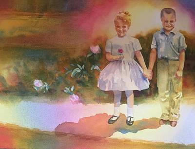 Painting - BFF by Tara Moorman