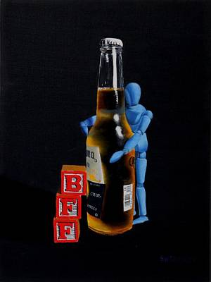 Manikins Painting - BFF by Tom Swearingen