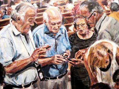 Painting - Bffs by Chuck Berk