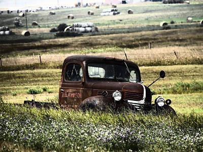 Old Trucks Photograph - Bg Johnson  by Jeff Swan