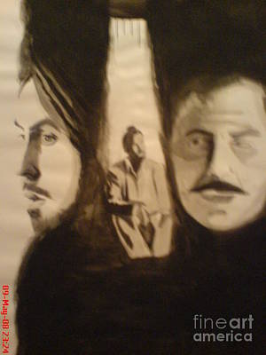 Goldblum Drawing - Bhagat Singh by Sandeep Kumar Sahota