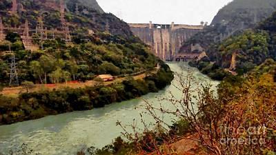 Photograph - Bhakra Dam by Ashish Agarwal