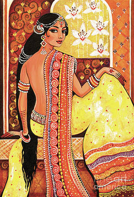 Bharat Art Print by Eva Campbell
