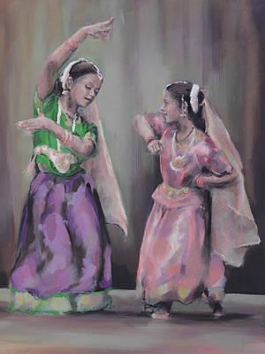 Bharatanatyam Painting - Bharata Natyam by Geoff Poole