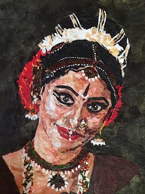 Bharatanatyam Painting - Bharatanatyam Dancer 2 by Mihira Karra