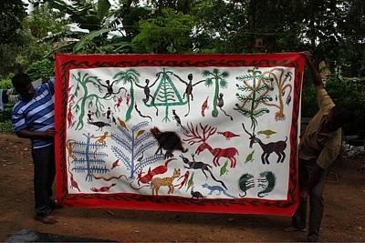 Bhuri Bai Painting - Bhil Pithora 2004 by Gangu Bai