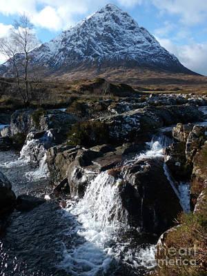 Photograph - Bhuachaillie Etive Mor - Glencoe by Phil Banks