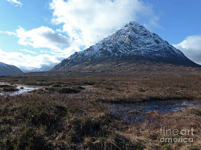 Photograph - Bhuachaillie Etive Mor - The Big Shepherd by Phil Banks